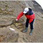 Recoltare probe OSL din malul Siretului(MRadoane)
