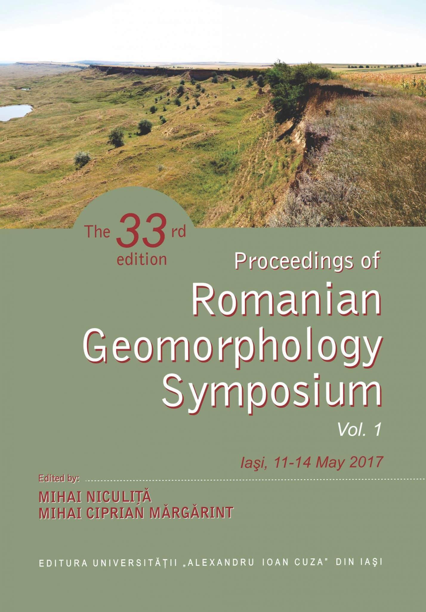 Proceedings Of The Romanian Geomorphology Symposium